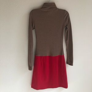 THML Anthropology Dresses - THML Anthropologie Red and Tan Dress
